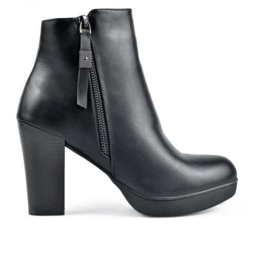 дамски елегантни боти черни 0135584
