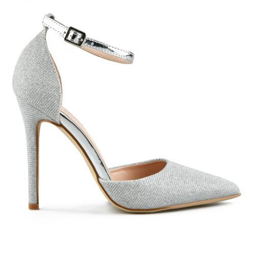 дамски елегантни сандали сребристи 0143246