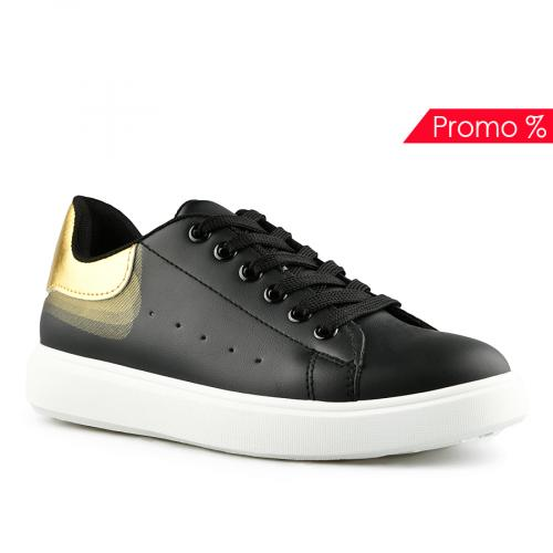 дамски ежедневни обувки черни 0141963