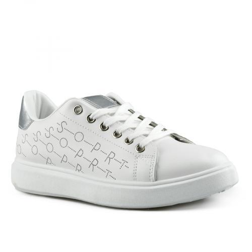 дамски ежедневни обувки бели 0142694