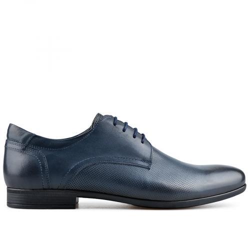 мъжки елегантни обувки сини 0138217