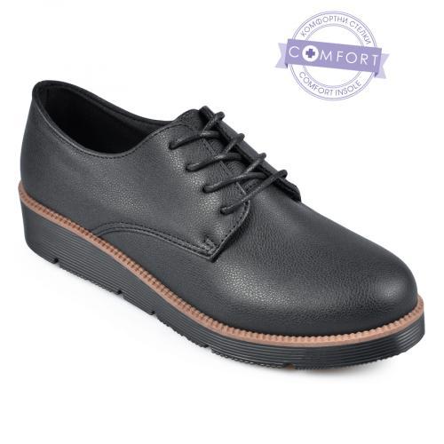 дамски ежедневни обувки черни 0141537