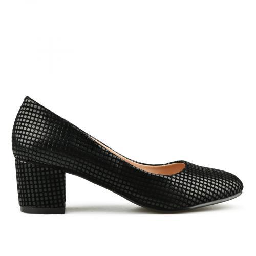 дамски елегантни обувки черни 0145036