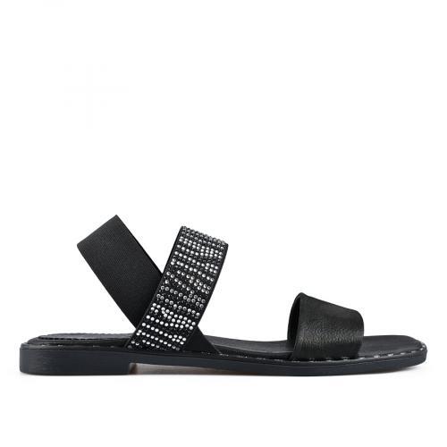 дамски ежедневни сандали черни 0138515