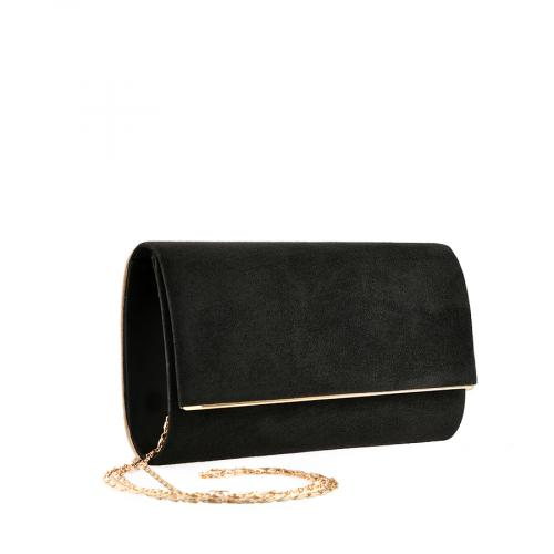 дамска елегантна чанта черна 0139854