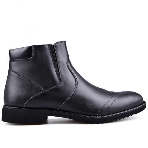 мъжки елегантни боти  черни 0132832