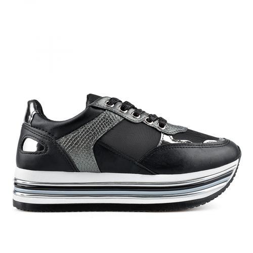 дамски ежедневни обувки черни 0136865