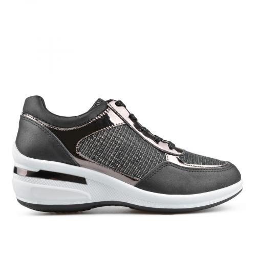 дамски ежедневни обувки черни 0136636