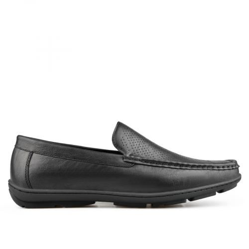 мъжки ежедневни обувки черни 0136974