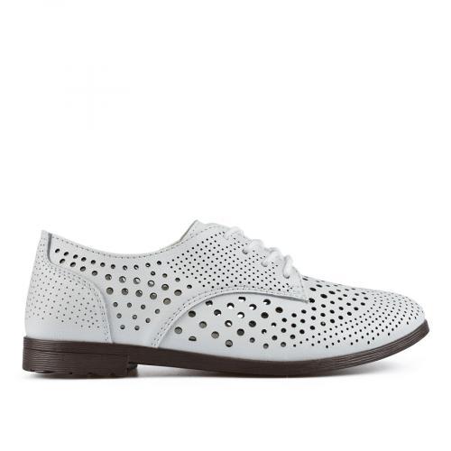 дамски ежедневни обувки бели 0137205