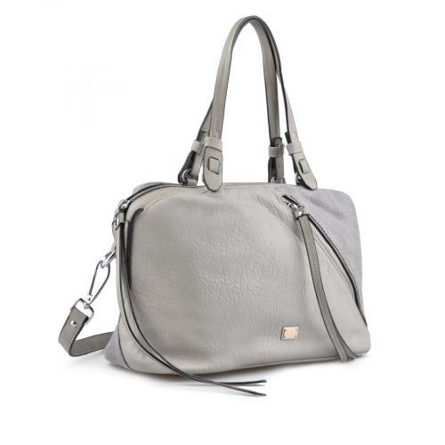 дамска ежедневна чанта сива 0137152