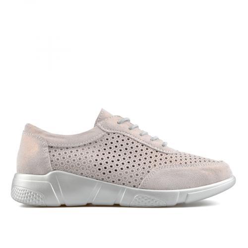 дамски ежедневни обувки бронзови 0137217