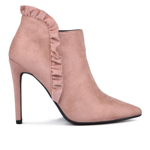 дамски елегантни боти розови 0132369
