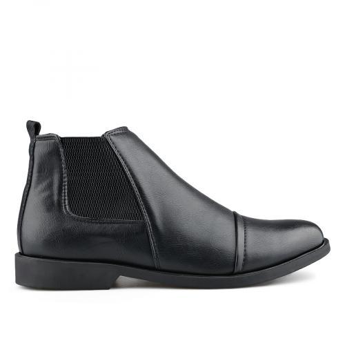 мъжки елегантни боти черни 0139081