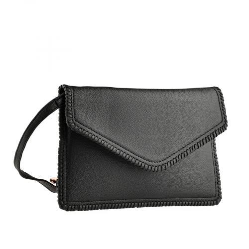 дамска елегантна чанта черна 0140906