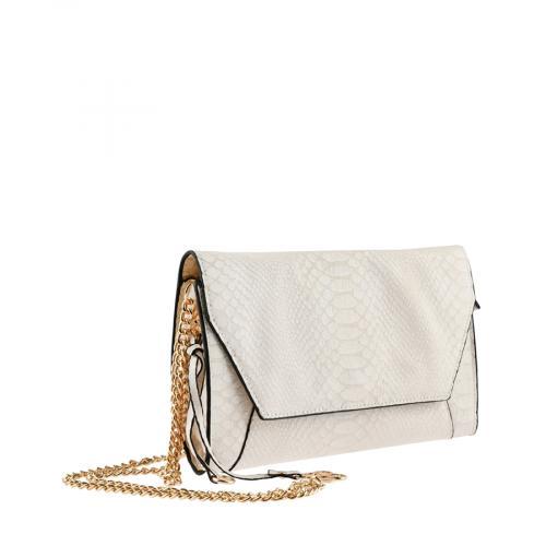 дамска ежедневна чанта бяла 0143332