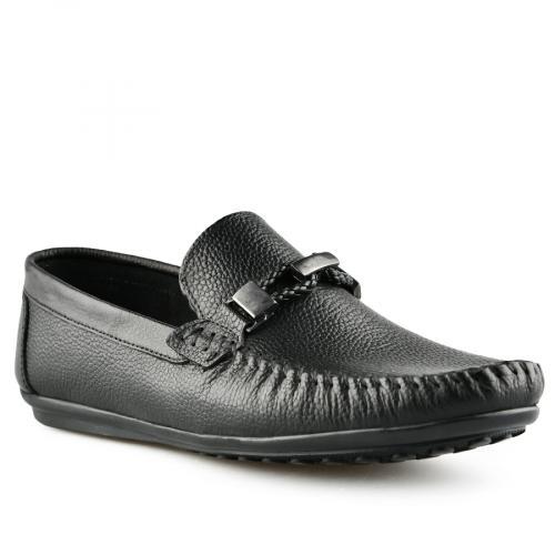 мъжки ежедневни обувки черни 0141257