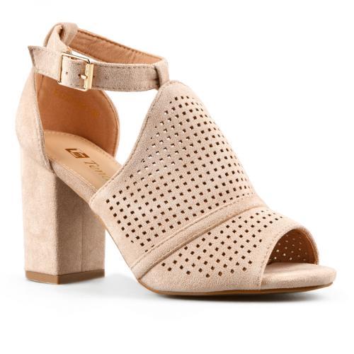 дамски елегантни сандали бежови 0143276