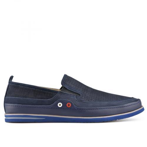 мъжки ежедневни обувки сини 0138408