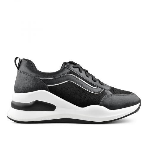 дамски ежедневни обувки черни 0139397