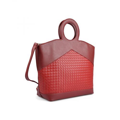 дамска ежедневна чанта червена 0136123