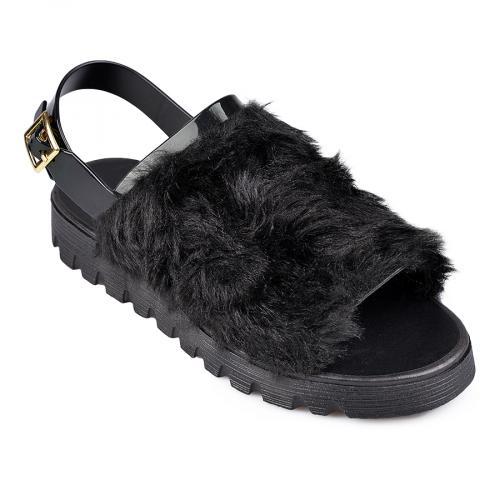 дамски ежедневни сандали черни 0130333