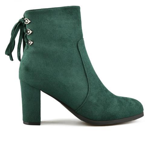 дамски елегантни боти зелени 0144486