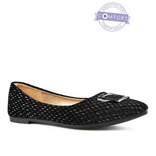 дамски ежедневни обувки черни 0143073