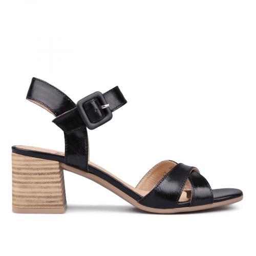 дамски ежедневни сандали черни 0131415