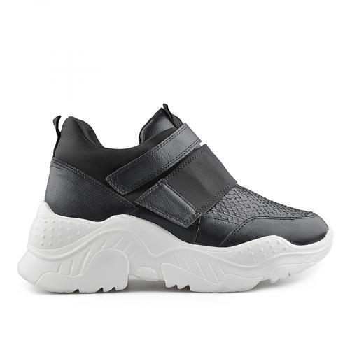 дамски ежедневни обувки черни 0139390