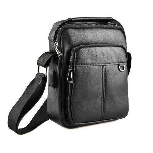 мъжка ежедневна чанта черна 0143881