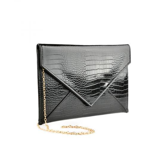 дамска елегантна чанта черна 0139886