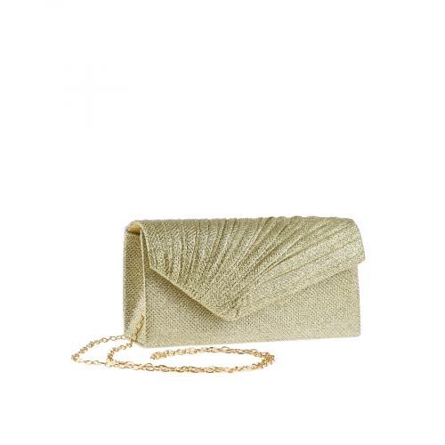 дамска елегантна чанта златиста 0143813
