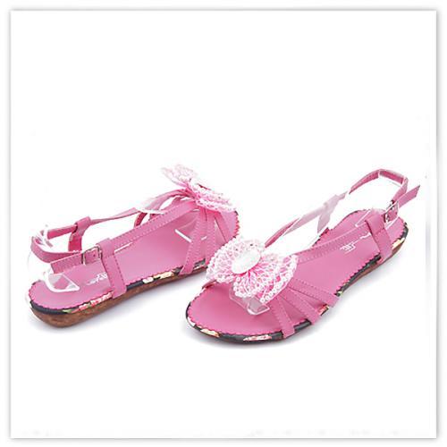 дамски сандали розови 0113445