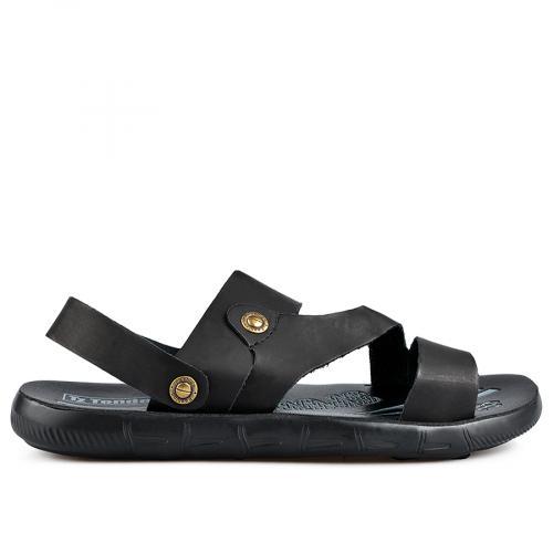 мъжки сандали черни 0137281