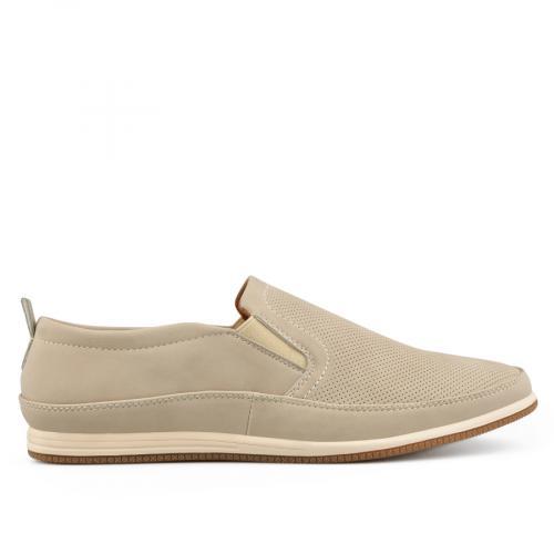 мъжки ежедневни обувки бежов 0136992