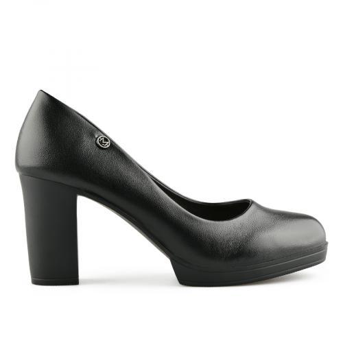 дамски елегантни обувки черни 0141030