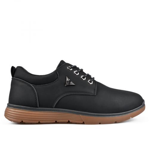 мъжки ежедневни обувки черни 0135486