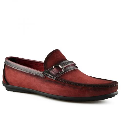 мъжки ежедневни обувки червени 0141253