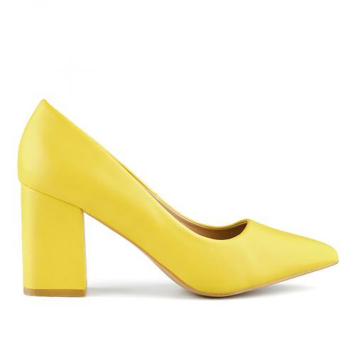 дамски елегантни обувки жълти 0141050