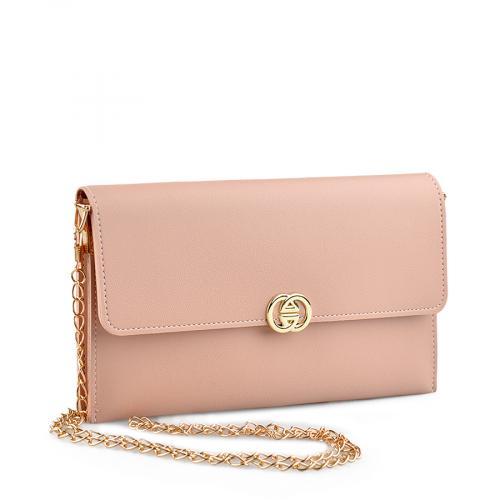 дамска  елегантна чанта бежова 0139467