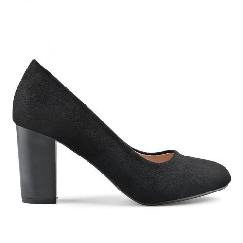 дамски елегантни обувки черни 0139143