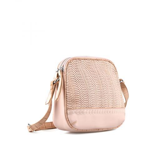 дамска ежедневна чанта розова 0143620