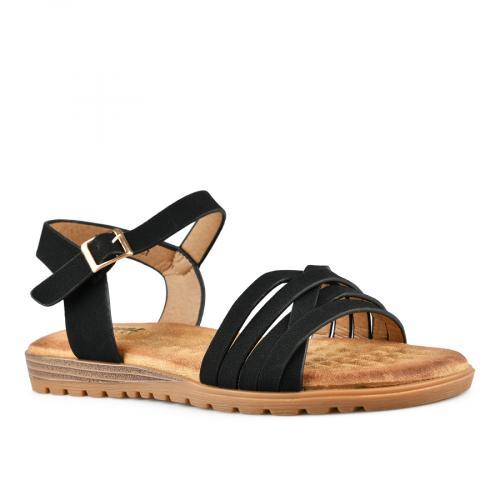 дамски ежедневни сандали черни 0142861