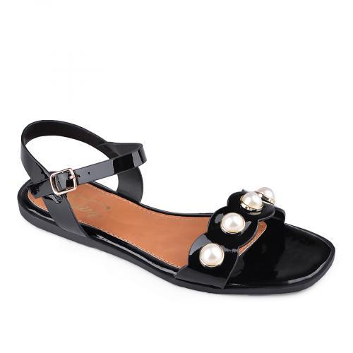 дамски ежедневни сандали черни 0134142