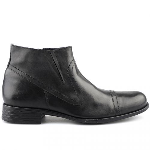 мъжки елегантни боти черни 0121425