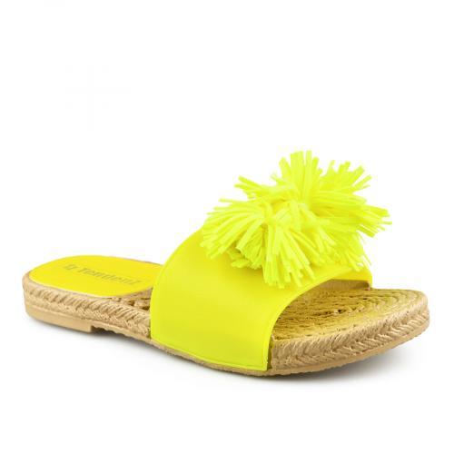 дамски ежедневни чехли жълти 0140925