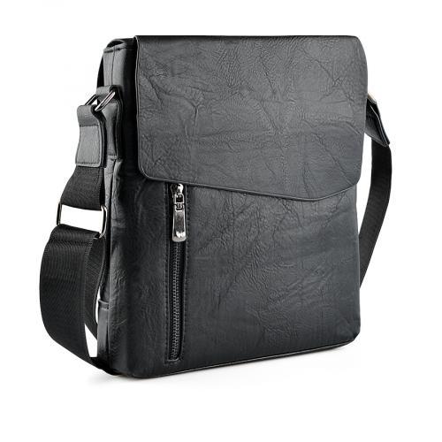 мъжка ежедневна чанта черна 0139316