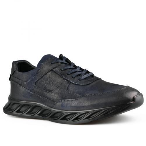 мъжки ежедневни обувки сини 0142138