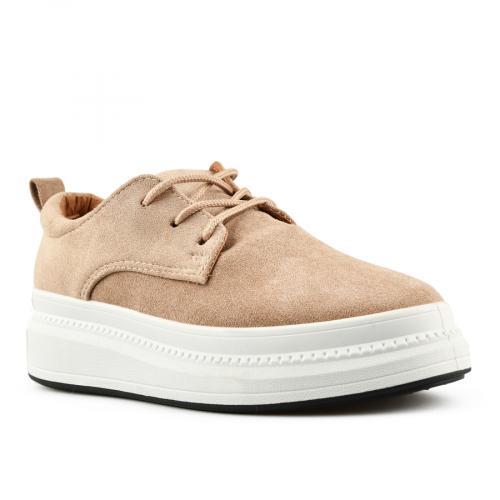 дамски ежедневни обувки бежови 0144724